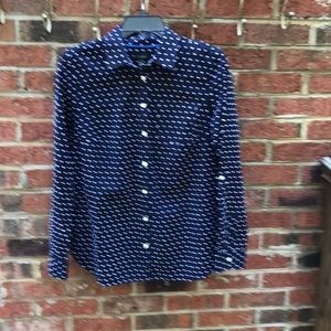 Size 10 - Talbots Button Shirt / Long sleeved